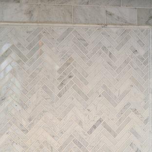 Kitchen Backsplash Herringbone Mosaic