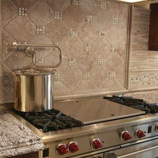 Traditional Kitchen by Discount Glass Tile Store