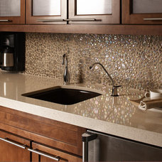 Contemporary Kitchen by Discount Glass Tile Store