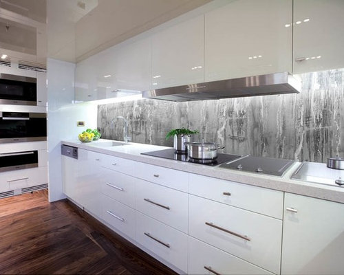 Resin Panels For Kitchen : Epoxy resin backsplash houzz