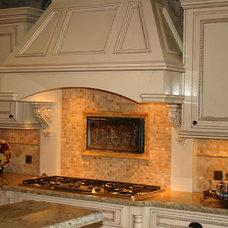 Traditional Kitchen Kitchen Backsplash