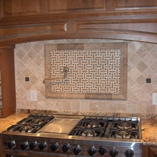 Traditional Kitchen by Triangle Tile & Stone of NC