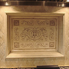 Traditional Kitchen by Andersen Ceramics