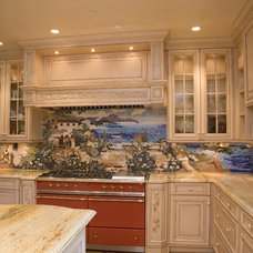 Mediterranean Kitchen by Vita Nova Mosaic, Inc.