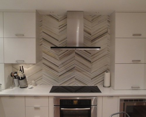 Chevron Tile Backsplash Houzz