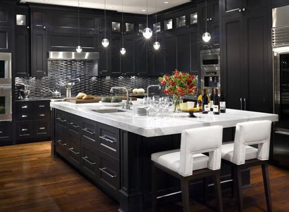 Contemporary Kitchen by World Mosaic (BC) Ltd.