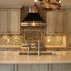 Contemporary Kitchen by World Mosaic (BC) Ltd.
