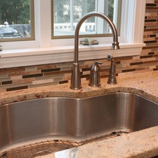 Traditional Kitchen by BELK Tile
