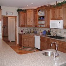 Traditional Kitchen by Old World Stone Imports