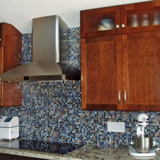 Modern Kitchen by Susan Jablon Mosaics