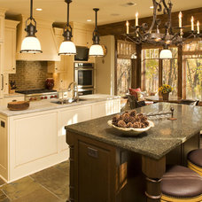 Traditional Kitchen by Baker Court Interiors
