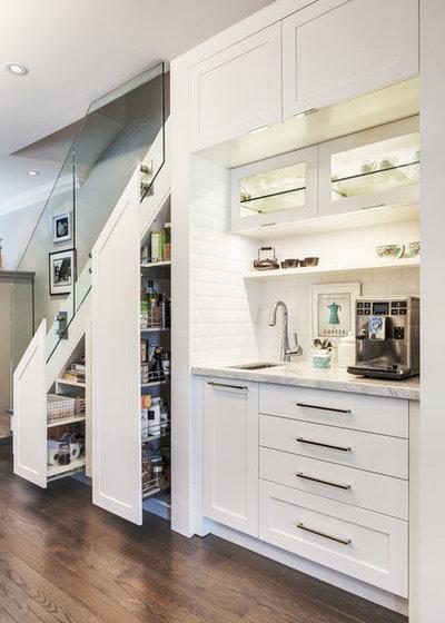 Contemporary Kitchen by Lisa Robazza Design