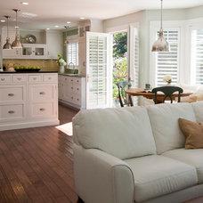 Traditional Kitchen by Rhonda Knoche Design