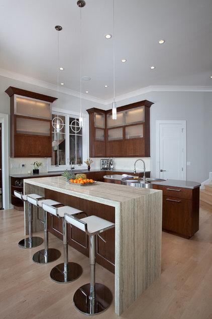 Contemporary Kitchen by Kitchen + Bath Artisans