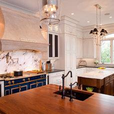 Traditional Kitchen by Kitchen + Bath Artisans
