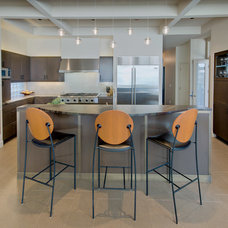 Contemporary Kitchen by Eide Construction, Inc. of Bellevue