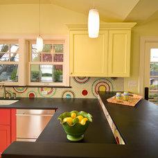 Contemporary Kitchen by Ventana Construction LLC