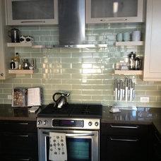Transitional Kitchen by Le Reve Design & Assoc.