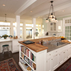 Beach Style Kitchen by Sarah Blank Design Studio