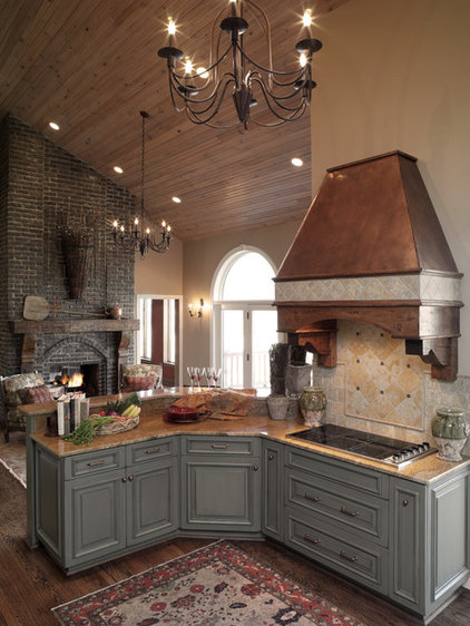 Traditional Kitchen by Becky Berg Design