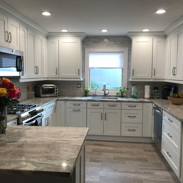 Kitchen Before and After in New City, NY