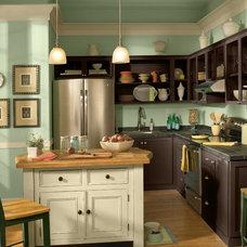 Contemporary Kitchen by BEHR®