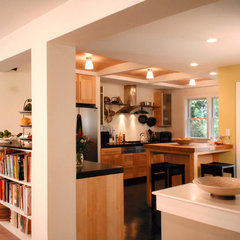 eclectic kitchen by Bennett Frank McCarthy Architects, Inc.