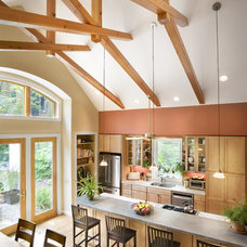 Contemporary Kitchen by Bennett Frank McCarthy Architects, Inc.