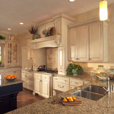 Traditional Kitchen by Benson Homes LLC