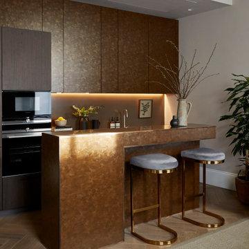 KITCHEN | Bespoke Cabinets & Bar for Entertaining