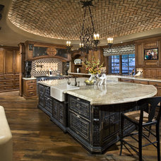 Mediterranean Kitchen by Bess Jones Interiors