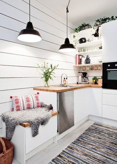 Scandinavian Kitchen by Betsy Lornbram