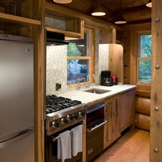 Rustic Kitchen by Bill Michels Architect
