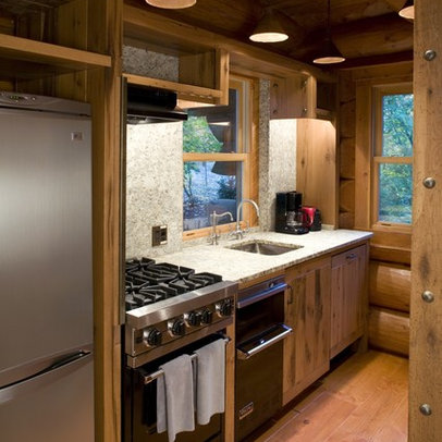 Kitchen | Log Cabin Remodel Ideas | Pinterest