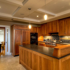 Contemporary Kitchen by Black Tusk Development Group Ltd.