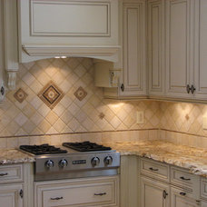 Traditional Kitchen by Tiles Unlimited of  Matawan N.J.