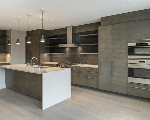 Cucina con pavimento in legno verniciato minneapolis - Pavimento in legno in cucina ...