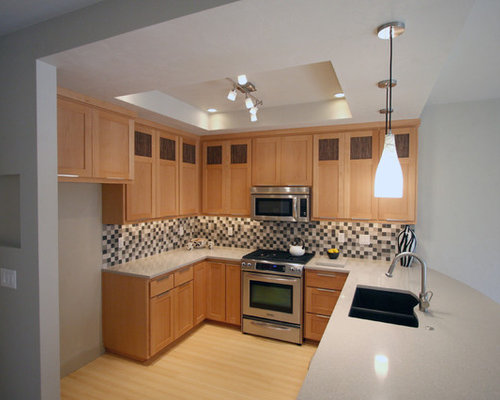 European Beech Cabinets Ideas, Pictures, Remodel and Decor