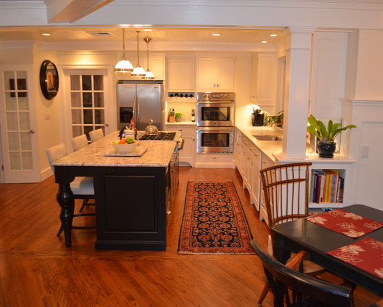 Kitchen Island With Slide In Stove center island with stove | houzz