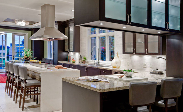 Contemporary Kitchen by Garret Cord Werner Architects & Interior Designers