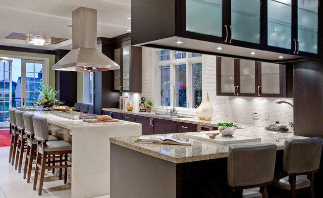 Contemporary Kitchen by Garret Cord Werner Architects & Interior Designers