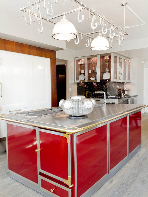 Aluminum Kitchen Cabinets Houzz