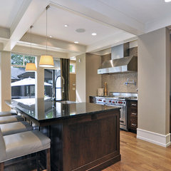 contemporary kitchen by Bruce Johnson & Associates Interior Design