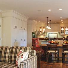 Traditional Kitchen by Bruce Johnson & Associates Interior Design