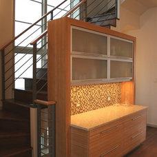 Modern Kitchen by Carr Warner, Architects