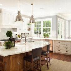 Traditional Kitchen Kitchen by ArchStudio, Inc