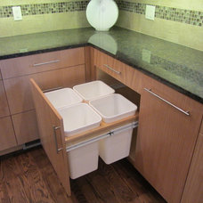 Contemporary Kitchen by Byrne Custom Woodworking Inc
