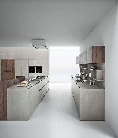 New Cement Resin For Kitchen Cabinets