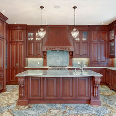 Traditional Kitchen by Casa Loma Doors & Art glass