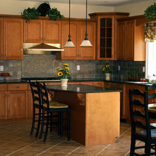 Craftsman Kitchen by Benchmark Home Improvements
